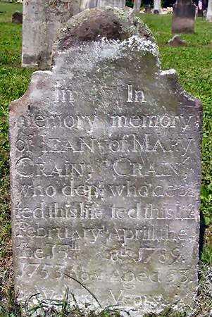 CRAIN, MARY - Dauphin County, Pennsylvania | MARY CRAIN - Pennsylvania Gravestone Photos