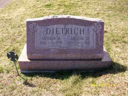 DIETRICH, ARLENE G. - Dauphin County, Pennsylvania | ARLENE G. DIETRICH - Pennsylvania Gravestone Photos