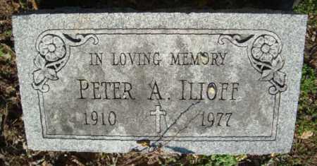 A. ILIOFF, PETER - Dauphin County, Pennsylvania | PETER A. ILIOFF - Pennsylvania Gravestone Photos