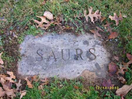 SAURS, WILLIAM - Dauphin County, Pennsylvania   WILLIAM SAURS - Pennsylvania Gravestone Photos