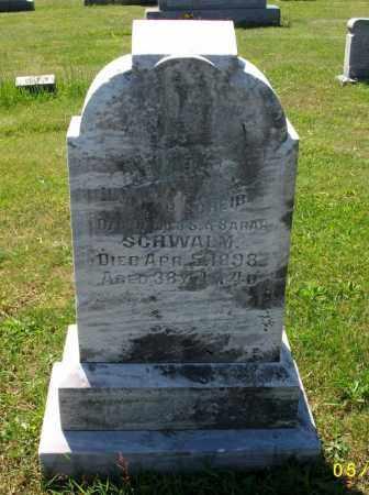 SCHWALM SCHEIB, ELIZABETH - Dauphin County, Pennsylvania | ELIZABETH SCHWALM SCHEIB - Pennsylvania Gravestone Photos