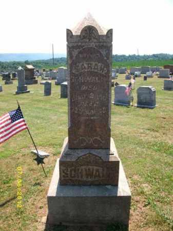 RUBENDALL SCHWALM, SARAH - Dauphin County, Pennsylvania   SARAH RUBENDALL SCHWALM - Pennsylvania Gravestone Photos
