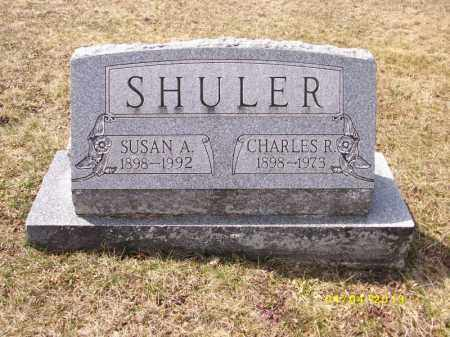 MILLER SHULER, SUSAN A - Dauphin County, Pennsylvania | SUSAN A MILLER SHULER - Pennsylvania Gravestone Photos