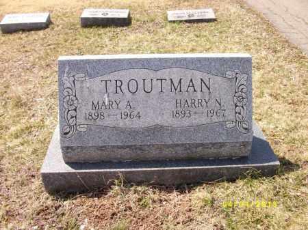 TROUTMAN, MARY - Dauphin County, Pennsylvania | MARY TROUTMAN - Pennsylvania Gravestone Photos