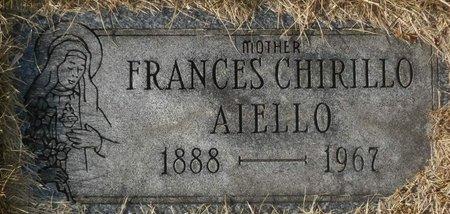 CHIRILLO AIELLO, FRANCES - Elk County, Pennsylvania | FRANCES CHIRILLO AIELLO - Pennsylvania Gravestone Photos