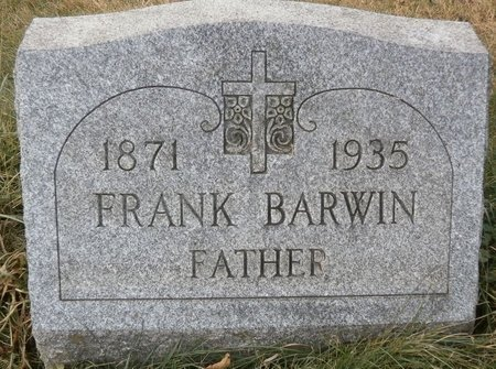 BARWIN, FRANK - Elk County, Pennsylvania | FRANK BARWIN - Pennsylvania Gravestone Photos