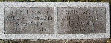 BRAHANEY, JOHN L. - Elk County, Pennsylvania   JOHN L. BRAHANEY - Pennsylvania Gravestone Photos