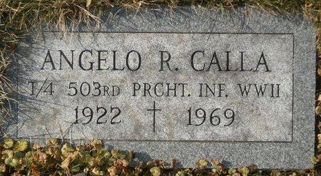 CALLA, ANGELO R. - Elk County, Pennsylvania | ANGELO R. CALLA - Pennsylvania Gravestone Photos