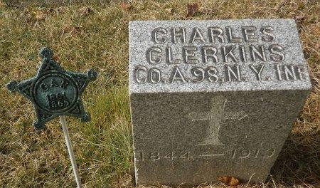 CLERKINS, CHARLES - Elk County, Pennsylvania | CHARLES CLERKINS - Pennsylvania Gravestone Photos