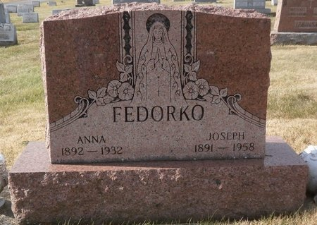 FEDORKO, JOSEPH - Elk County, Pennsylvania | JOSEPH FEDORKO - Pennsylvania Gravestone Photos