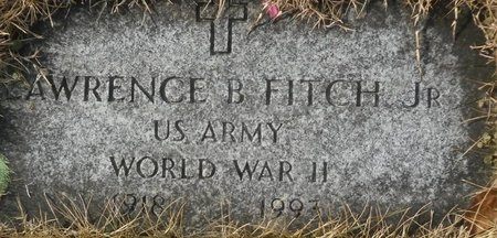 FITCH, LAWRENCE B. JR. - Elk County, Pennsylvania | LAWRENCE B. JR. FITCH - Pennsylvania Gravestone Photos
