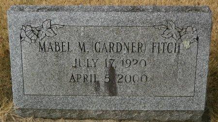 GARDNER FITCH, MABEL M - Elk County, Pennsylvania | MABEL M GARDNER FITCH - Pennsylvania Gravestone Photos