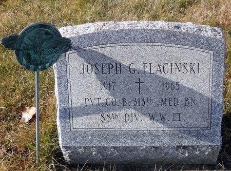 FLACINSKI, JOSEPH G. - Elk County, Pennsylvania   JOSEPH G. FLACINSKI - Pennsylvania Gravestone Photos