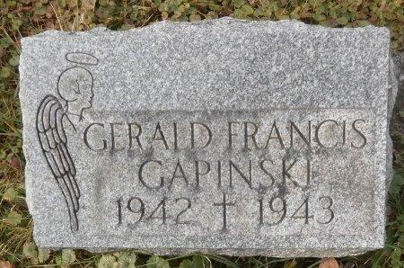 GAPINSKI, GERALD - Elk County, Pennsylvania | GERALD GAPINSKI - Pennsylvania Gravestone Photos