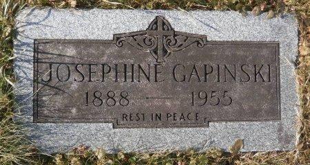 GAPINSKI, JOSEPHINE - Elk County, Pennsylvania   JOSEPHINE GAPINSKI - Pennsylvania Gravestone Photos