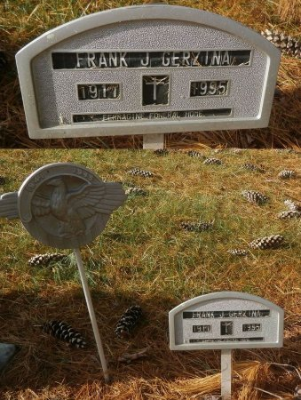 GERZINA, FRANK - Elk County, Pennsylvania | FRANK GERZINA - Pennsylvania Gravestone Photos