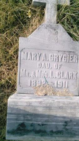 CLARK GRYGIER, MARY A. - Elk County, Pennsylvania | MARY A. CLARK GRYGIER - Pennsylvania Gravestone Photos