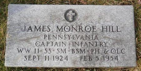 HILL, JAMES MONROE - Elk County, Pennsylvania   JAMES MONROE HILL - Pennsylvania Gravestone Photos