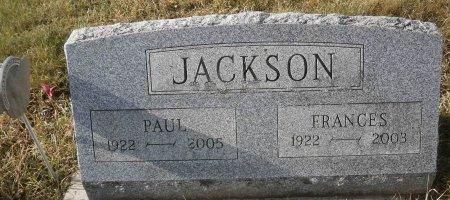 JACKSON, FRANCES - Elk County, Pennsylvania | FRANCES JACKSON - Pennsylvania Gravestone Photos
