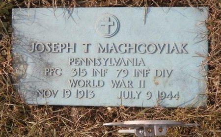 MACHCOVIAK, JOSEPH T. - Elk County, Pennsylvania | JOSEPH T. MACHCOVIAK - Pennsylvania Gravestone Photos