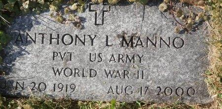 MANNO, ANTHONY L. - Elk County, Pennsylvania | ANTHONY L. MANNO - Pennsylvania Gravestone Photos