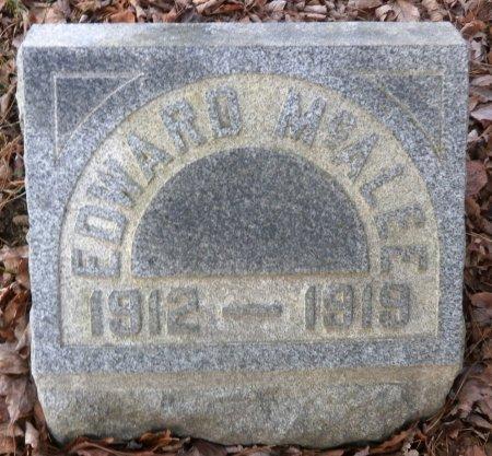 MCALEE, EDWARD - Elk County, Pennsylvania   EDWARD MCALEE - Pennsylvania Gravestone Photos
