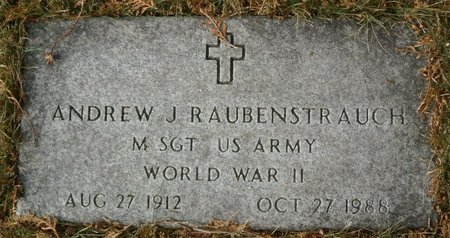 RAUBENSTRAUCH, ANDREW J. - Elk County, Pennsylvania | ANDREW J. RAUBENSTRAUCH - Pennsylvania Gravestone Photos