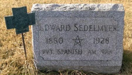 SEDELMYER, EDWARD - Elk County, Pennsylvania | EDWARD SEDELMYER - Pennsylvania Gravestone Photos