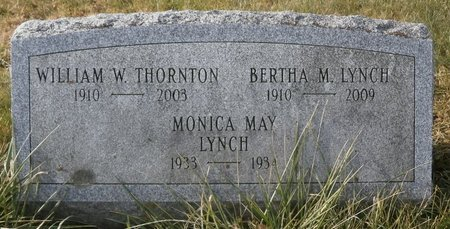 LYNCH, BERTHA - Elk County, Pennsylvania | BERTHA LYNCH - Pennsylvania Gravestone Photos