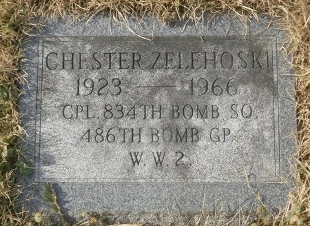ZELEHOSKI, CHESTER - Elk County, Pennsylvania | CHESTER ZELEHOSKI - Pennsylvania Gravestone Photos