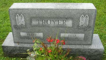 TROYER, ELSA - Erie County, Pennsylvania | ELSA TROYER - Pennsylvania Gravestone Photos