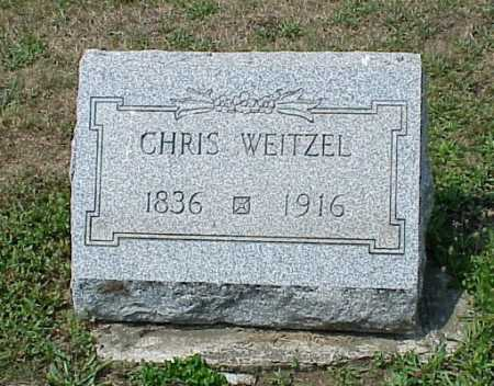 WEITZEL, CHRISTIAN - Erie County, Pennsylvania | CHRISTIAN WEITZEL - Pennsylvania Gravestone Photos