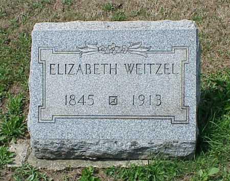 STRUBEL WEITZEL, ELIZABETH - Erie County, Pennsylvania | ELIZABETH STRUBEL WEITZEL - Pennsylvania Gravestone Photos