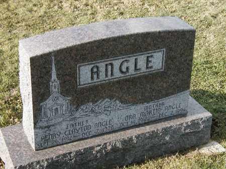 ANGLE, ORA - Franklin County, Pennsylvania | ORA ANGLE - Pennsylvania Gravestone Photos