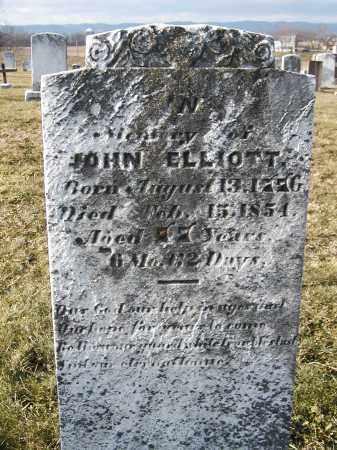 ELLIOTT, JOHN - Franklin County, Pennsylvania   JOHN ELLIOTT - Pennsylvania Gravestone Photos