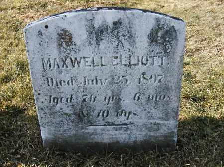 ELLIOTT, MAXWELL - Franklin County, Pennsylvania | MAXWELL ELLIOTT - Pennsylvania Gravestone Photos