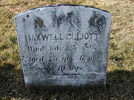 ELLIOTT, MAXWELL - Franklin County, Pennsylvania | MAXWELL ELLIOTT - Pennsylvania Gravestone Photos