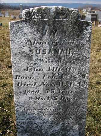 ELLIOTT, SUSANAH - Franklin County, Pennsylvania | SUSANAH ELLIOTT - Pennsylvania Gravestone Photos
