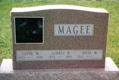 MAGEE, AUDREY B. - Franklin County, Pennsylvania | AUDREY B. MAGEE - Pennsylvania Gravestone Photos