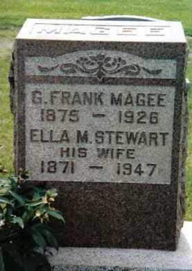 MAGEE, ELLA M. - Franklin County, Pennsylvania | ELLA M. MAGEE - Pennsylvania Gravestone Photos