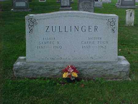ZULLINGER, SAMUEL - Franklin County, Pennsylvania | SAMUEL ZULLINGER - Pennsylvania Gravestone Photos