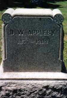 APPLEBY, DENNY W. - Huntingdon County, Pennsylvania | DENNY W. APPLEBY - Pennsylvania Gravestone Photos