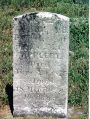 APPLEBY, DAUGHTER - Huntingdon County, Pennsylvania | DAUGHTER APPLEBY - Pennsylvania Gravestone Photos