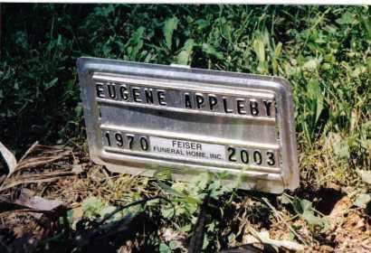 APPLEBY, EUGENE - Huntingdon County, Pennsylvania   EUGENE APPLEBY - Pennsylvania Gravestone Photos