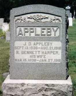 APPLEBY, JOHN DORIS - Huntingdon County, Pennsylvania | JOHN DORIS APPLEBY - Pennsylvania Gravestone Photos