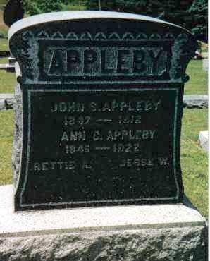 APPLEBY, JOHN SCOTT - Huntingdon County, Pennsylvania | JOHN SCOTT APPLEBY - Pennsylvania Gravestone Photos