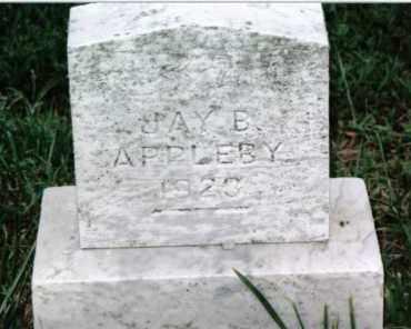 APPLEBY, JAY B. - Huntingdon County, Pennsylvania   JAY B. APPLEBY - Pennsylvania Gravestone Photos
