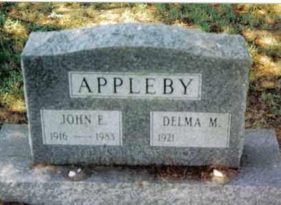 APPLEBY, DELMA M. - Huntingdon County, Pennsylvania | DELMA M. APPLEBY - Pennsylvania Gravestone Photos