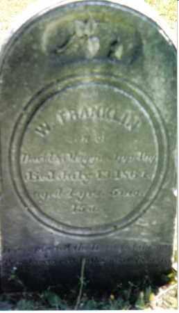 APPLEBY, W. FRANKLIN - Huntingdon County, Pennsylvania | W. FRANKLIN APPLEBY - Pennsylvania Gravestone Photos