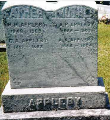 APPLEBY, ALICE A. - Huntingdon County, Pennsylvania | ALICE A. APPLEBY - Pennsylvania Gravestone Photos